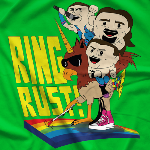 Ring Rust Radio Ring Rust Rocks! T-shirt