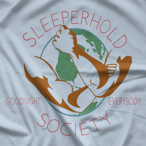 RJ City Sleeperhold Society T-shirt