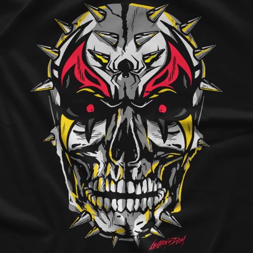 Road Warriors Skull Spikes T-shirt