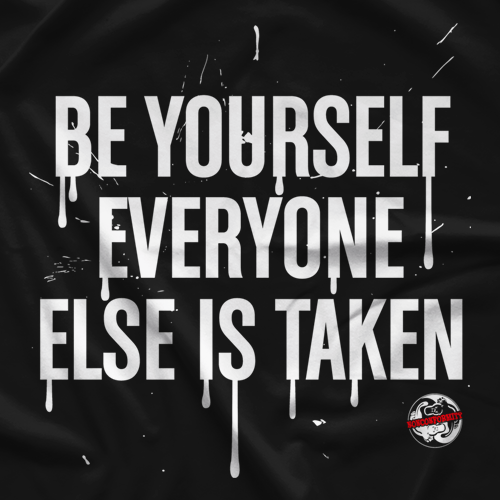 Rob Van Dam Be Yourself by Nonconformity Clothing T-shirt