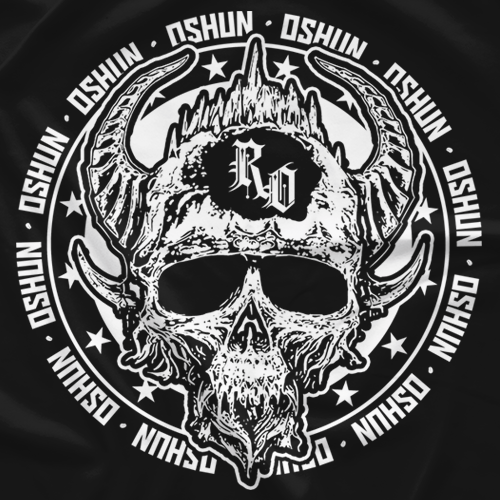 Oshun Metal Skull