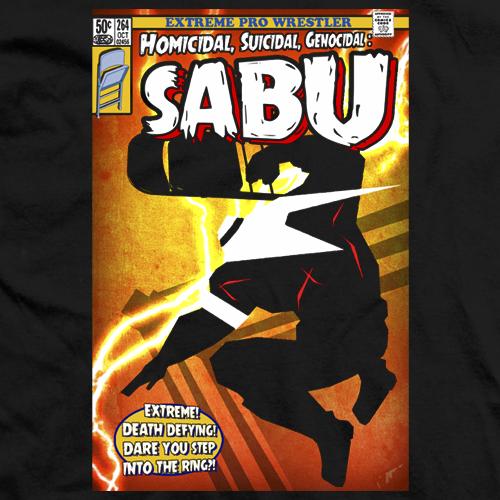 Sabu Comics T-shirt