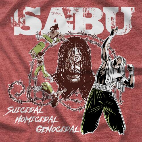Sabu Tribute T-shirt