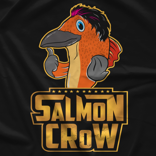 Salmon Crow T-shirt