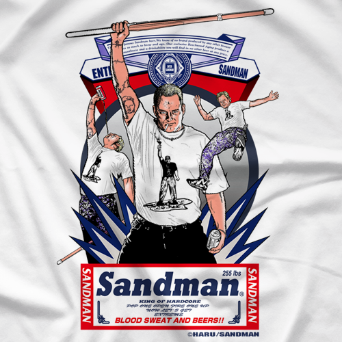 "Sandman ""The Hardcore Icon"" Official Wrestling Store"