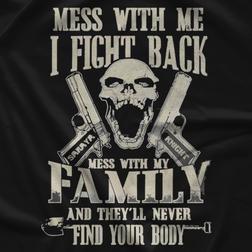 Saraya Knight Don't Mess With T-shirt