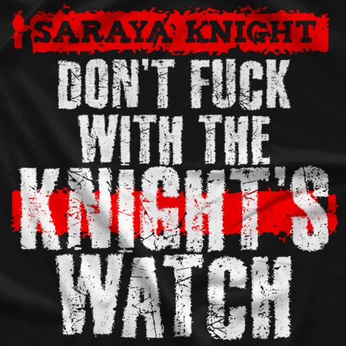 Saraya Knight Knight Watch T-shirt