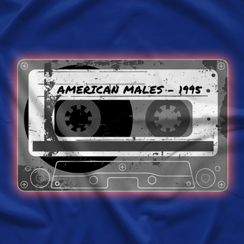 Scotty Riggs American Males 1995 T-shirt