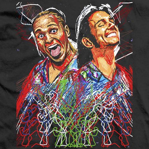 Young Bucks Scribble T-shirt