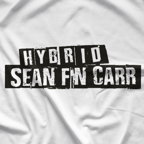 Sean Carr F'N Carr (White) T-shirt