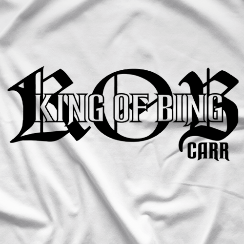 Sean Carr King Of Bing T-shirt