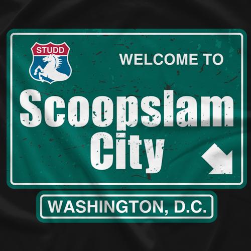 Sean Studd Scoopslam City T-shirt