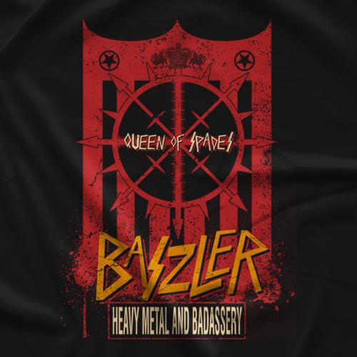 Shayna Baszler Heavy Metal Badassery T-shirt