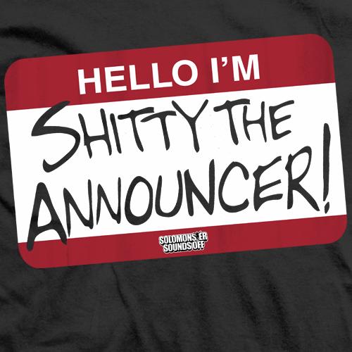 Shitty Announcer