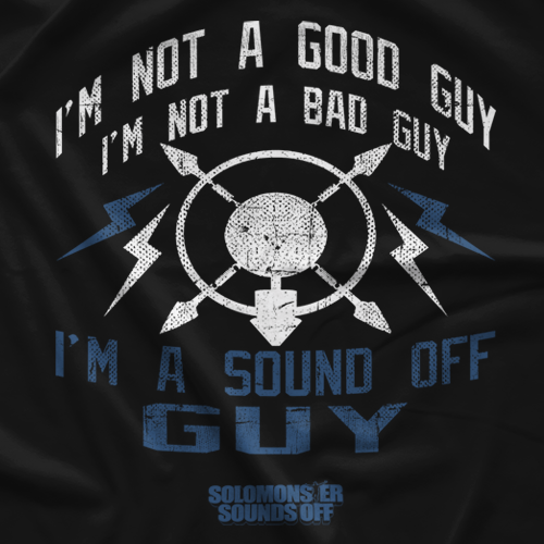 Solomonster Sounds Off Sound Off Guy T-shirt