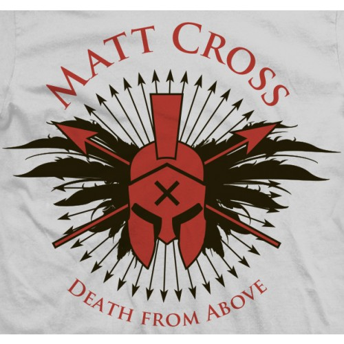 Matt Cross Spartan Cross T-shirt