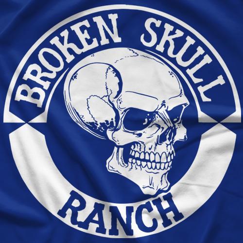 Steve Austin BSR Skull Emblem T-shirt
