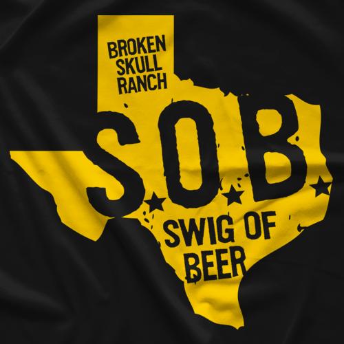 Steve Austin SOB Texas T-shirt