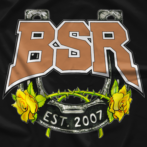 Steve Austin BSR Yellow Rose T-shirt
