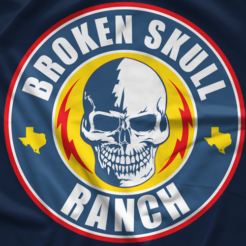 Steve Austin BSR Skull Light T-shirt