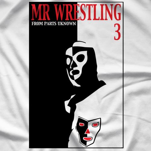 Steve Corino Mr. Wrestling 3 Scarmask T-shirt