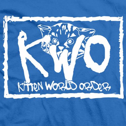 Kitten World Order T-shirt