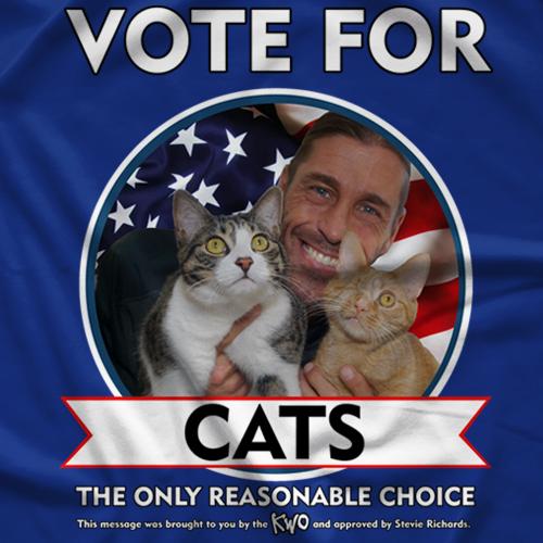Vote Cats! T-shirt