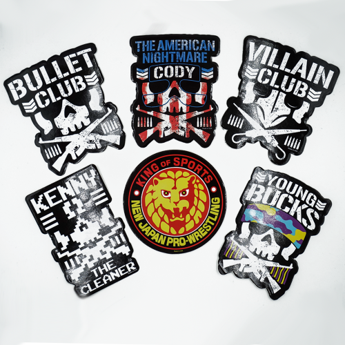 Bullet Club / NJPW Stickers