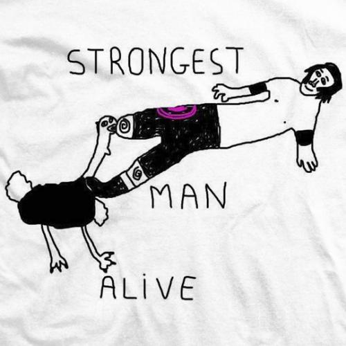Strongest Man Alive T-shirt