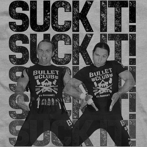 Young Bucks Suck It! T-shirt