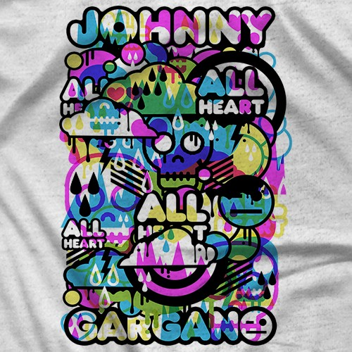 Johnny Gargano All Heart T-shirt