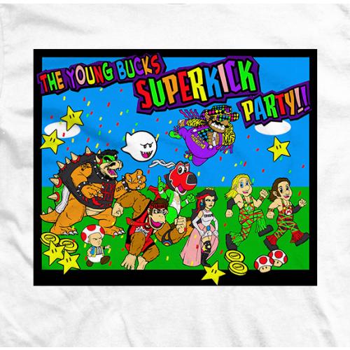 Young Bucks Superkick T-shirt