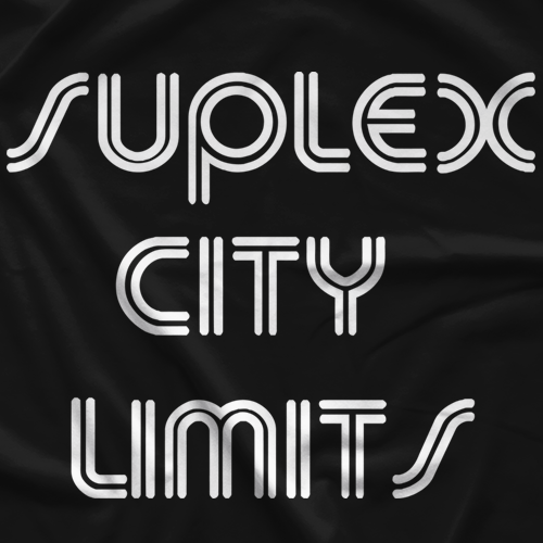 Suplex City Limits Classic Logo T-shirt