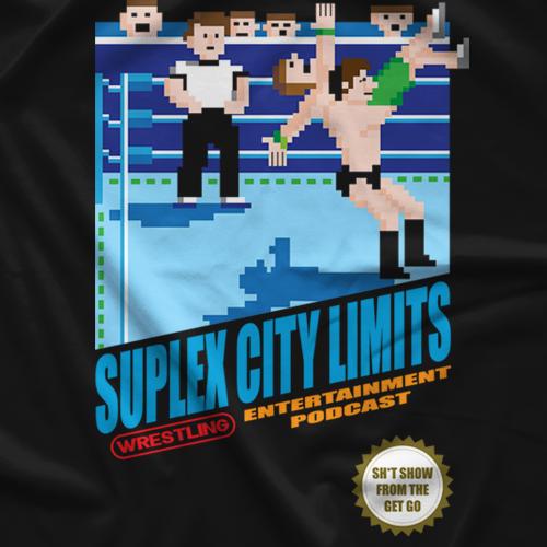 Suplex City Limits SCL 8-Bit T-shirt