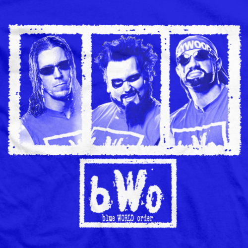 The 3 Faces of bWO T-shirt