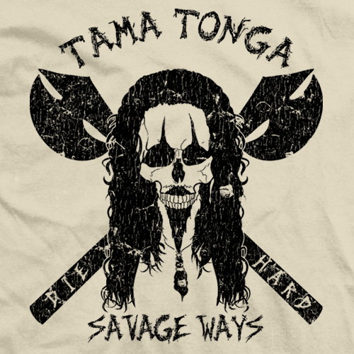 Tama Tonga Savage Ways T-shirt