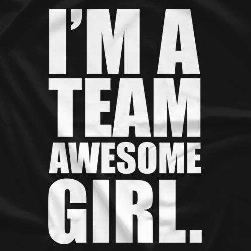 Team Awesome Girl