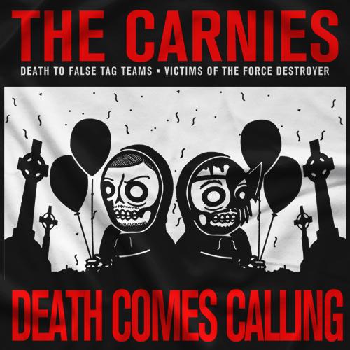 Team IOU Death Comes Calling T-shirt