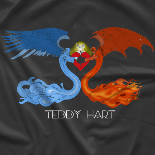 Teddy Hart Wings T-shirt