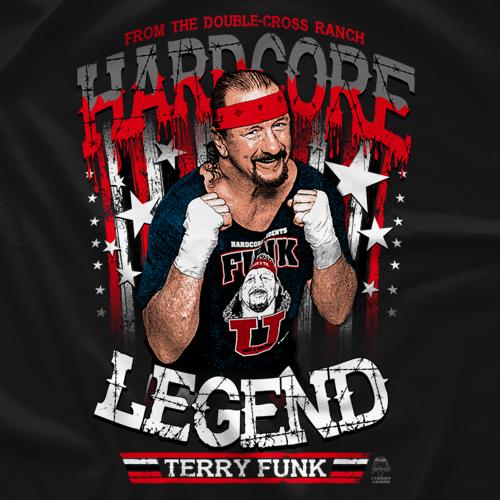Terry Funk Hardcore Legend T-Shirt
