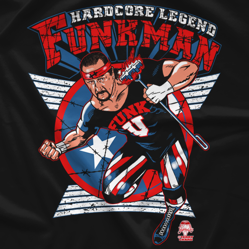 Terry Funk Funkman T-Shirt