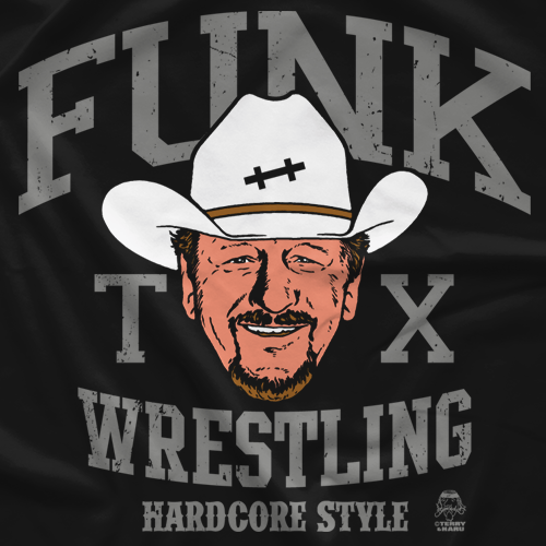 Terry Funk Funk Wrestling T-Shirt
