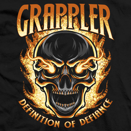 Grappler On Fire