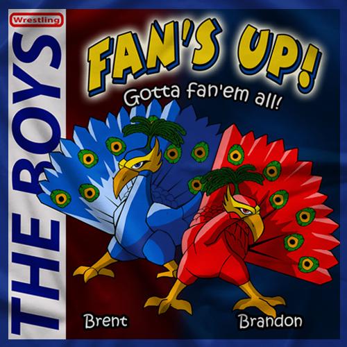 The Boys Fan Up Blue T-shirt