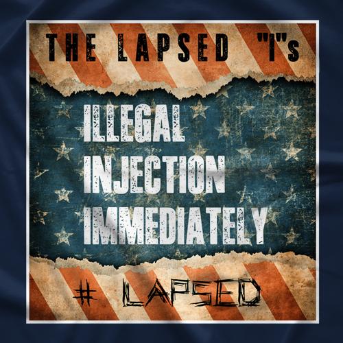 "The Lapsed ""I""s T-shirt"
