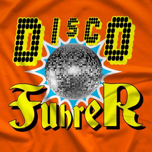 The Lapsed Fan Podcast Disco Fuhrer T-shirt