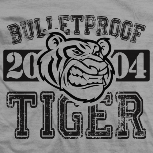 Throwback Bulletproof Tiger