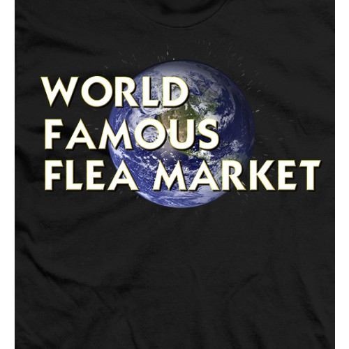 World Famous Flea Market - Black