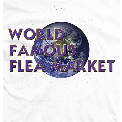 World Famous Flea Market - White