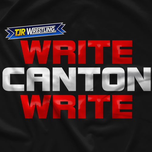 TJR Wrestling Write Canton Write T-shirt